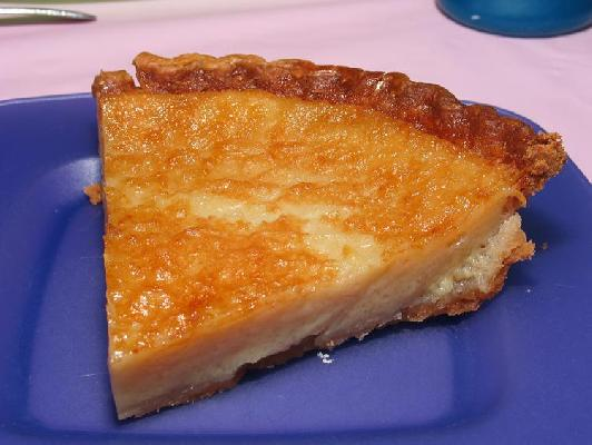 Gramma's Amish Custard Pie