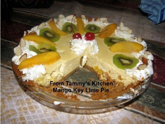 Mango Key Lime Pie