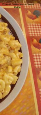 Pressure Cooker Mac & Cheese
