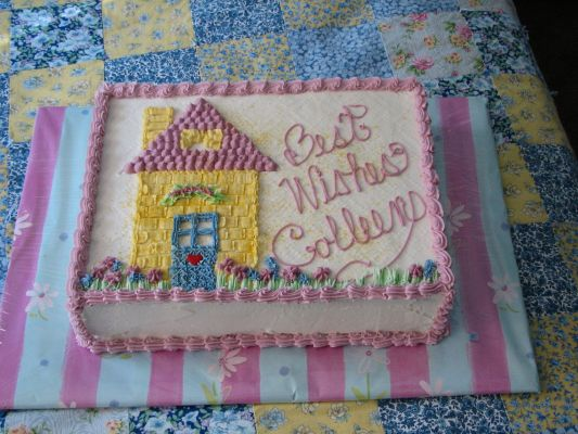 New house cake