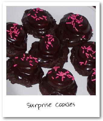 Surprise Cookies (Chocolate and Marshmallow Cookies)