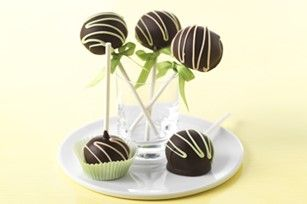 Chocolate Truffle Cookie Pops