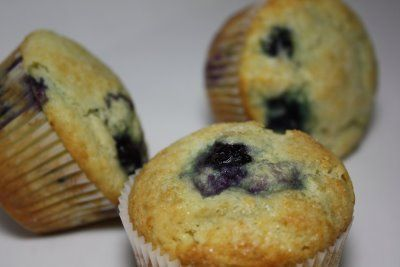 Big Blueberry Muffins