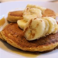 May's Sunday Morning Banana Pancakes