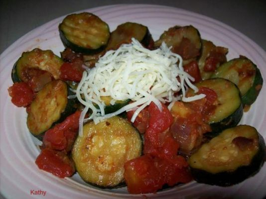 Star's Zucchini And Tomatoes