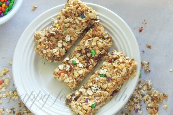 The Homemade Granola Bars My Son Couldn't Stop Eating