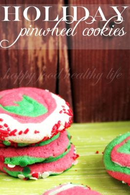 Holiday Pinwheel Cookies