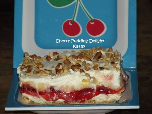 Cherry Pudding Delight