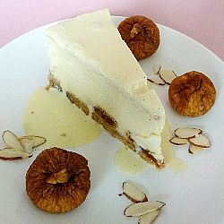 Fig and Almond Cheesecake