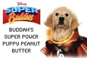 Buddha Super Power Puppy Peanut Butter