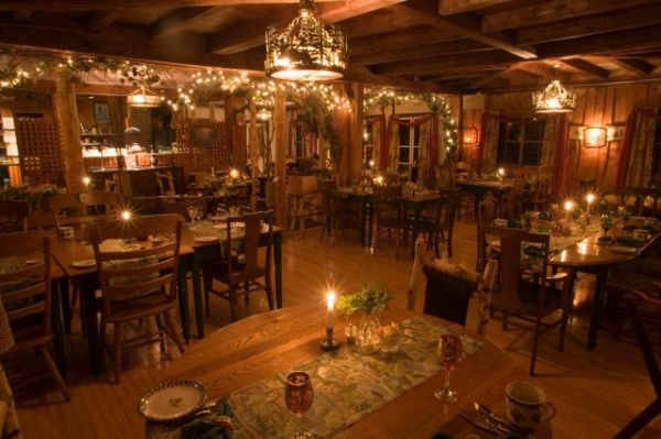My 1886 Dining room in my Adirondack Alps restaurant