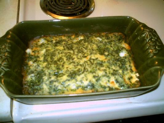 Spinach Squares