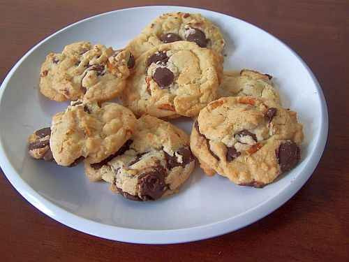 Chocolate-Covered Peanut Chocolate Chip Cookies