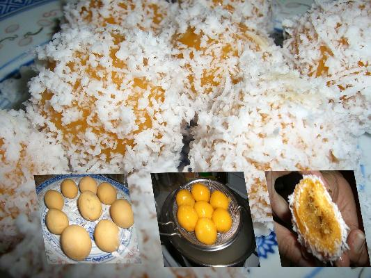 Sweet Potato Onde Onde