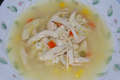Simple TLC Lemony Chicken Soup