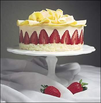 White Velvet Cake On Bakespace Com
