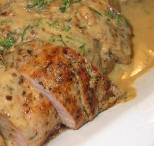 Calico Pork Tenderloin