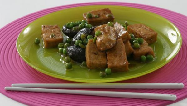 Bean Curd with Oyster Sauce