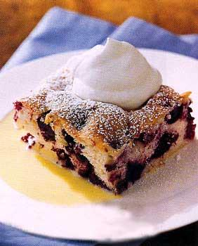 Three Berry Butter Cake