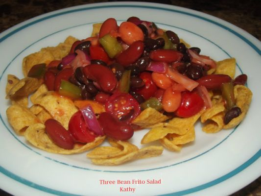 Three Bean Frito Salad