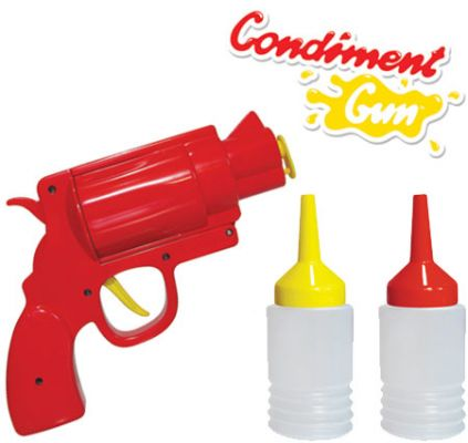 CONDIMENT GUN: http://www.perpetualkid.com/index.asp?PageAction=VIEWPROD&ProdID=3396&dc=bakespace