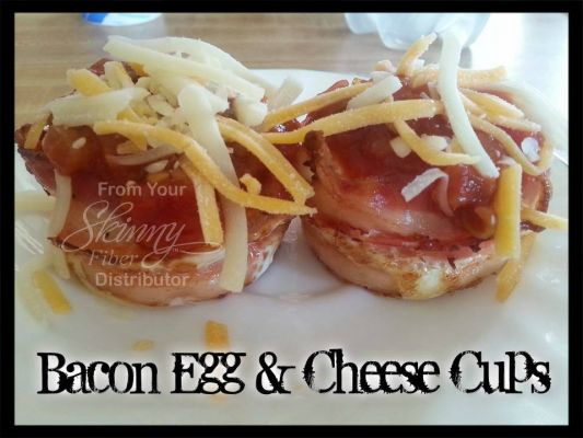 Bacon, Egg & Cheese Cups