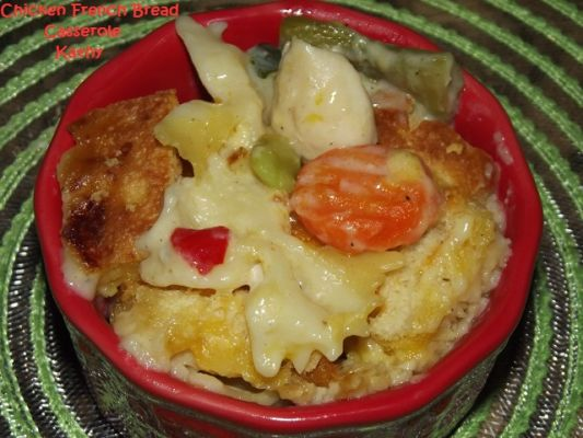 Chicken French Bread Casserole