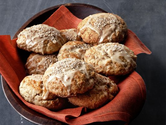 Ethan F's Maple Scones, modified from Food Network