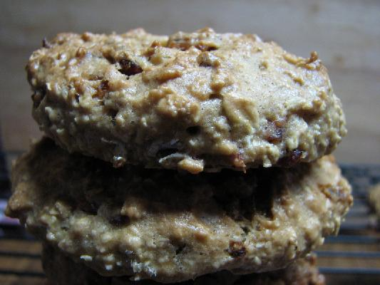 Banana Walnut and Caramelized Bacon Cookie