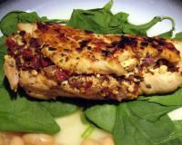 Chicken Breasts Stuffed With Feta & Sun-Dried Tomatoes