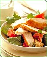 Italian Grilled Chicken And Bread Salad
