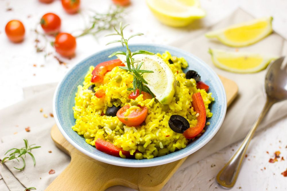 Yellow Brick Rice