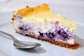 Marty's Fake Stuffed Blueberry Cheesecake