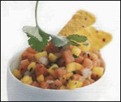 Fruit Salsa & Homemade Tortilla Chips