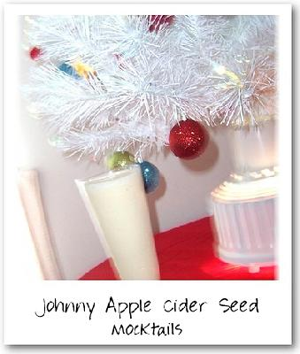 Johnny Apple-Cider-Seed Mocktail