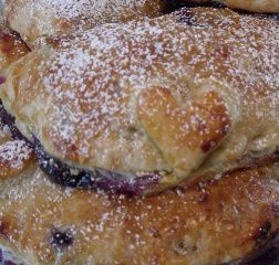Blueberry-Vanilla Cream Cheese Hand Pies