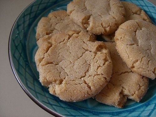 Vanilla Chai Spiced Crackle Cookies