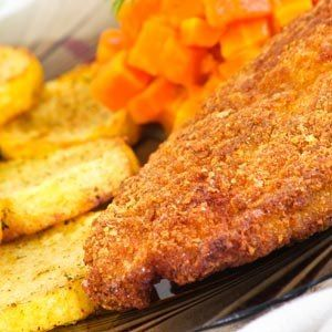 WEBMD Healthy Baked Parmesan Crusted Chicken Cutlets