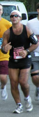 Running my 1st Marathon, Sept 09