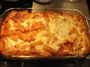 Baked Ziti with Clams alla Diavolo