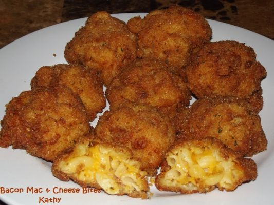 Bacon Mac & Cheese Bites