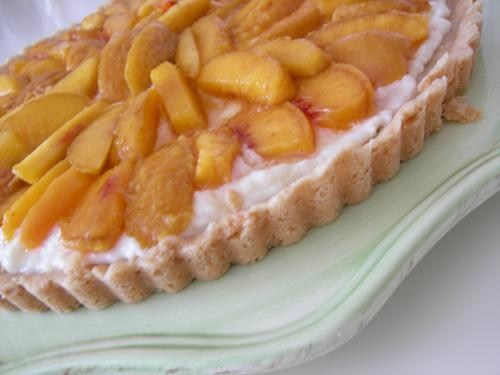 Peaches n Cream Tart