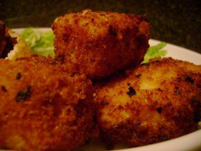 Fried Mac & Cheese Nuggets