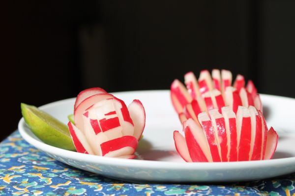 Radishes with Lime