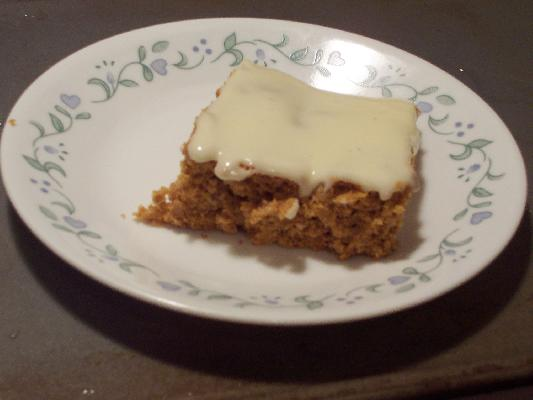 Pumpkin Bars - 3 Points