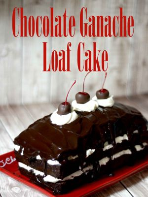 Chocolate Ganache Loaf Cake