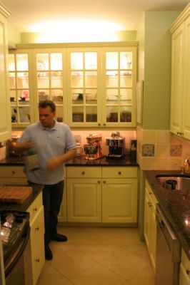 Me in Martha Stewart's Kitchen