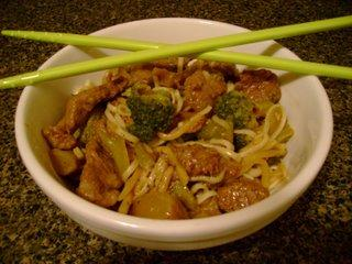 Beef & Broccoli Somen Noodles