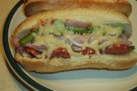Oven Pizza Sub Sandwiches