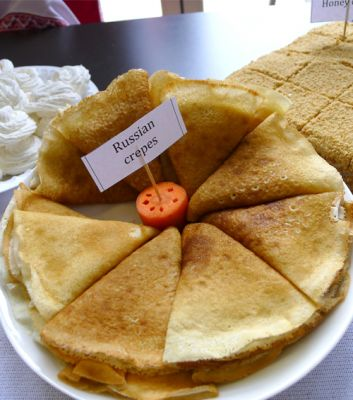 Russian crepes